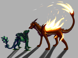 Contest: Polar Opposites by BlackDragon152