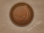 Leather badge by Rskys