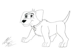 Kitara the wolfhound - Cooper by MortenEng21