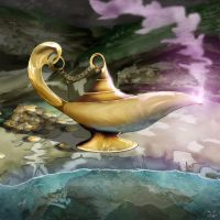 Genie Lamp by dreamastermind