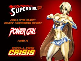 Powergirl Mid-Life Crisis by Superman8193