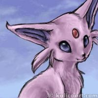 Doodle the Espeon by kalicothekat