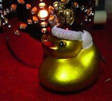Santa Duck by DJCandiDout