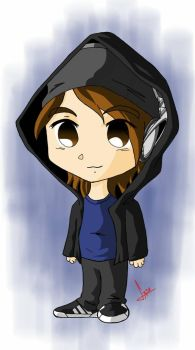 Me on Chibi style by GABOND12