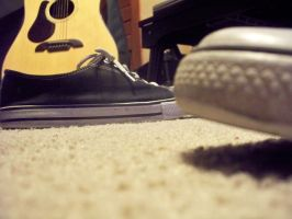 Converse and Guitar by awhite92