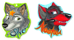 Badges for SilverShadowfax by NY-Stray