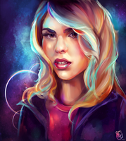 Kiriban: Rose Tyler by StarshipSorceress