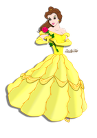 Princess Belle by ZeeShiKing