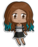 [C] Mini chibi Aurelie by izka197