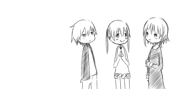 Don't touch my Maka _Gif_ by 3-Keiko-chan-3