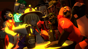 Drinking contest by Ram-Gier