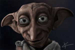 Dobby Is A Free Elf by apfelgriebs
