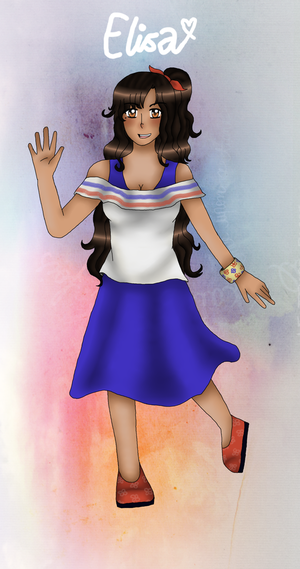 [APH ELEMENTARY] Elisa's design (see description) by melonstyle