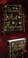 Ahness Art Asylum sketchbook by Ahness