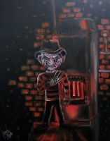 mini Freddy by AmandaPainter87