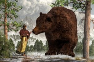 The Bear Woman by deskridge