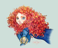 Day 35: Merida by SteamboatLyssie