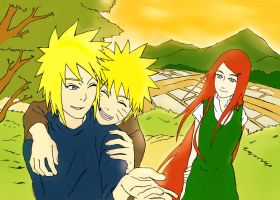 Naruto Coloring: Otou-san to Okaa-san! by PeachBerryDivision