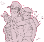 Gay hats and noT SO STRAIGHT MEN by xNIR0x