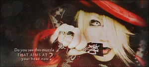 Ruki Cockroach Signature by BeforeIDecay1996
