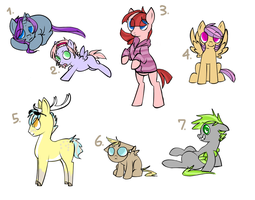 :MLP: Adoptables CLOSED by DubQueen