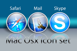 mac osx icon set by cavalars