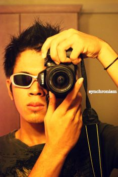 self photograph by synchronismart