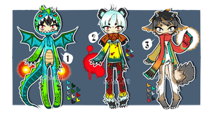 Adopt 16 SET PRICE : 1 left!!! (CLOSED) by malphas90