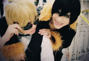 Smile Shizuo please xD by SidarthuR