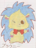 Jewelpet Brownie by Alice-of-Africa
