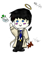 Chibi Castiel by The-Light-Source