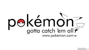 A more Modern Pokemon Logo by JRCnrd