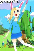 Fionna Adventure time by Ley-san