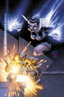 City of Heroes No. 19 Cover by DNA-1