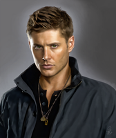 Jensen Ackles/Dean from Supernatural by XDaiaX