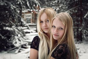 White sisters IV by lightlanaskywalker
