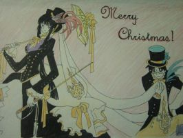 Merry X-mas to patriciameister by chevalier16