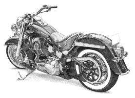 Harley Davidson Deluxe by ajgrier