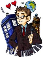 Everyone Loves David Tennant by ScuttlebuttInk