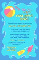 You're invited to a POOL PARTY! by ocpartytime-mod