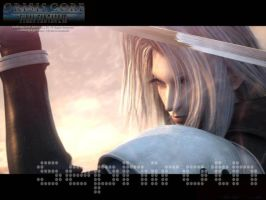 Sephiroth Crisis Core by blacktiewhitetie