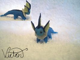 134 Vaporeon by VictorCustomizer
