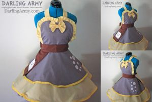 Derpy Hooves Mail Uniform MLP Cosplay Pinafore by DarlingArmy