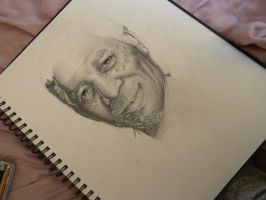 WIP Morgan Freeman III by MissCarroll