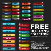 Free Button PSD by Sonel