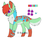 Colour butt: OPEN [100 Points] by Key-Ring