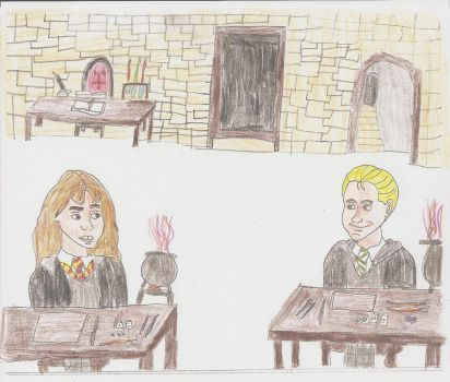 Yugure Request- Draco+Hermione by Mairelyn