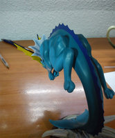 Vaporeon - WIP - May 2011 by AshtonSama
