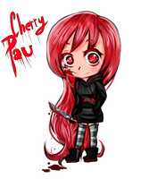 Chibi Cherry Pau - Fan Art by LevaDakot