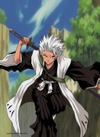 Hitsugaya Toshiro Colored by Tonesko